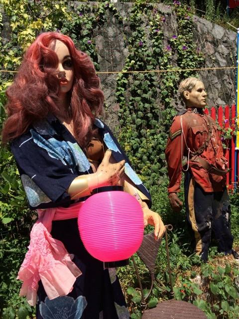 マネキンやら蝋人形やら、場内は人形だらけ。たまに他の来場者に出会うとかえってドッキリする。